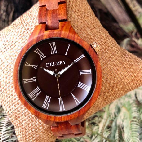 Holz Armbanduhr Arcadia