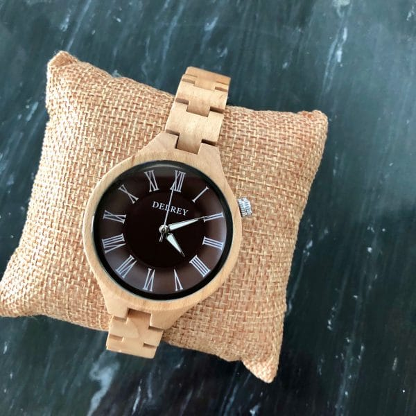 Holz Armbanduhr Aurora