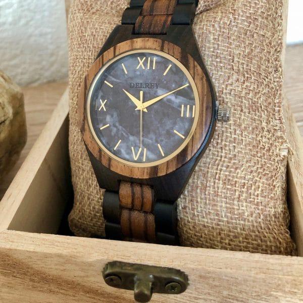 Holz Armbanduhr Beaumont