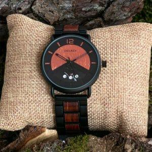 Holz Armbanduhr Cody