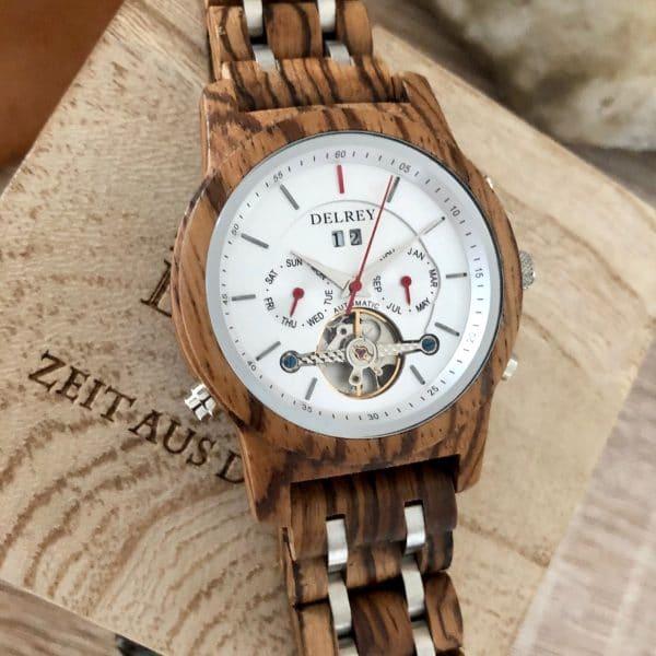 Holz Armbanduhr Emporia