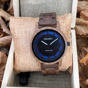 Holz Armbanduhr Fremont