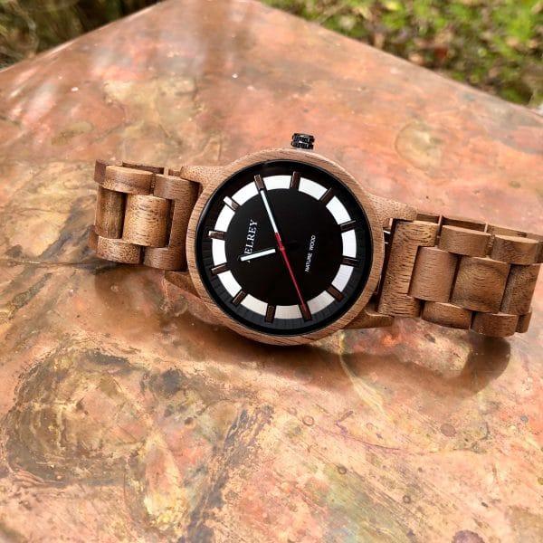 Holz Armbanduhr Fresno