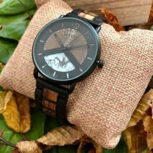 Holz Armbanduhr Indio