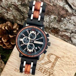 Holz Armbanduhr La Mesa