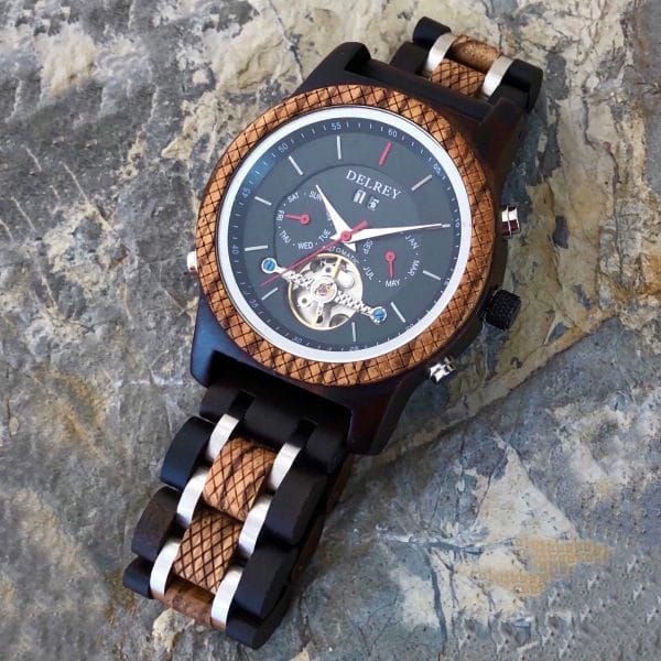 Holz Armbanduhr Lamar