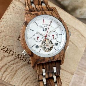 Holz Armbanduhr Lynwood