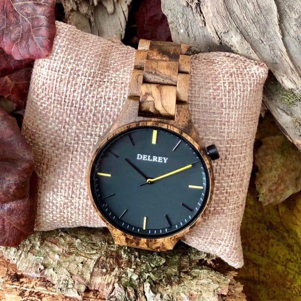 Holz Armbanduhr Rockville