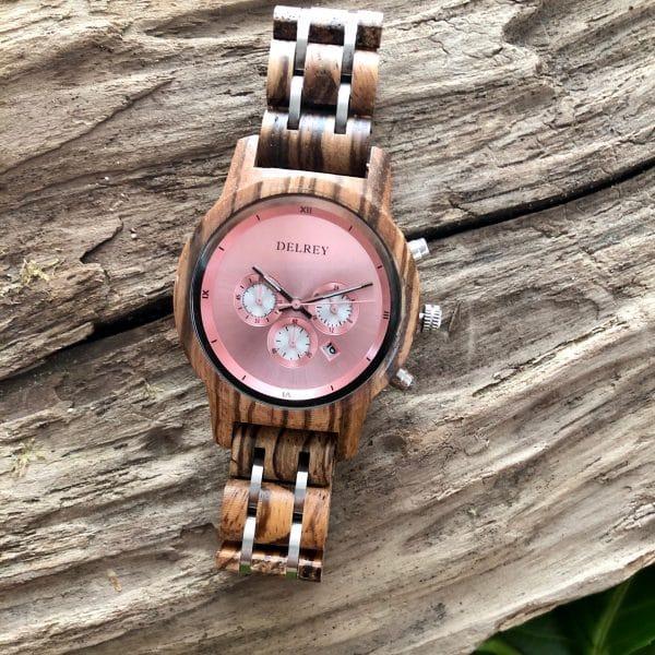 Holz Armbanduhr Rosamont