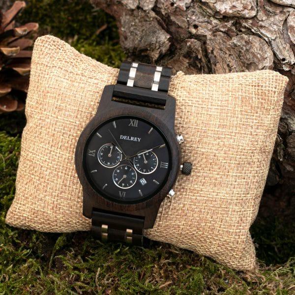 Holz Armbanduhr San Mateo