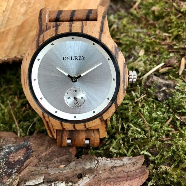 Holz Armbanduhr Sonora