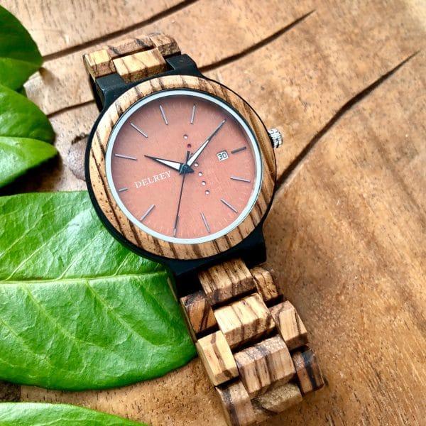 Holz Armbanduhr Vernon
