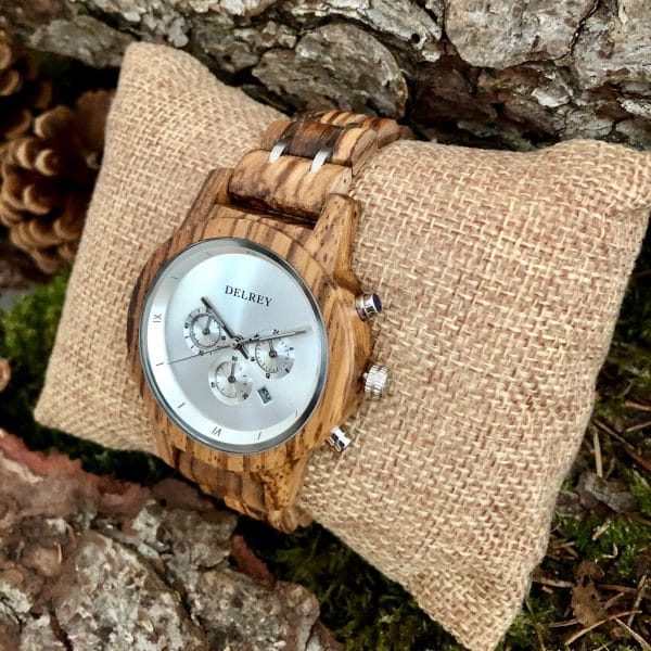 Holz Armbanduhr Cisco