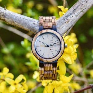 Holz Armbanduhr Covina