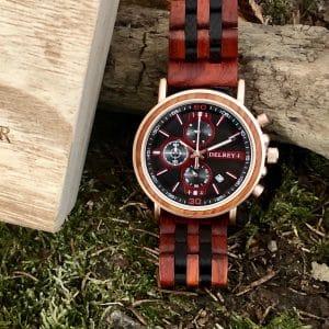 Holz Armbanduhr Del Mar