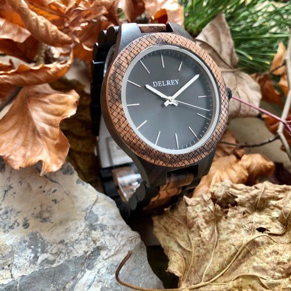 Holz Armbanduhr Elberon