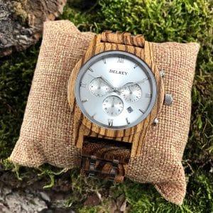 Holz Armbanduhr Monterey