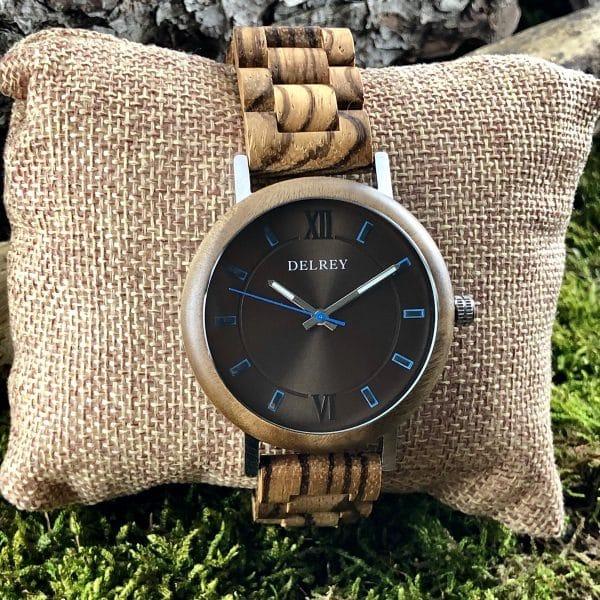 Holz Armbanduhr Cardiz