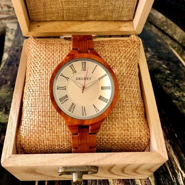 Holz Armbanduhr Arvada
