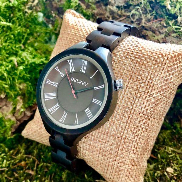 Holz Armbanduhr Athens