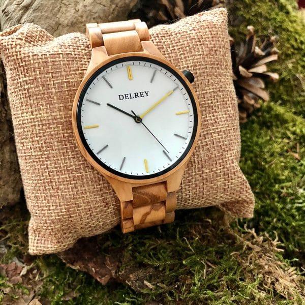Holz Armbanduhr Palmyra