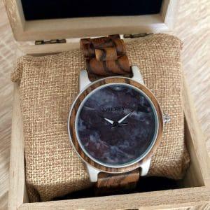 Holz Armbanduhr Juneau